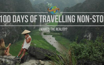 100 days of travelling non-stop